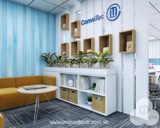 Thiết kế văn phòng công ty Convatec