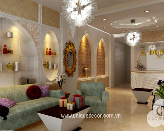 Thiết kế nội thất thẩm mỹ viện đẹp chuyên nghiệp tại HCM