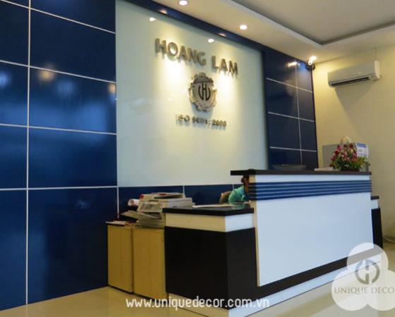 Thiết kế Văn Phòng công ty Hoàng Lâm