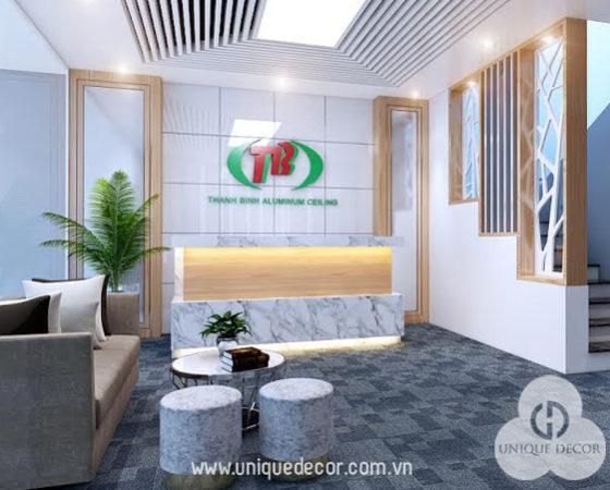 Thiết kế nội thất văn phòng công ty đẹp tại Tp.HCM