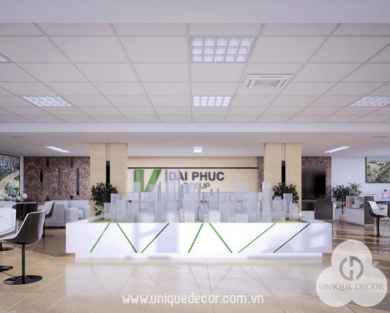 Thiết kế văn phòng công ty Bất Động Sản Đại Phúc