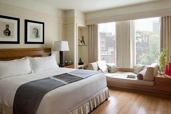 mẫu phòng ngủ khách sạn