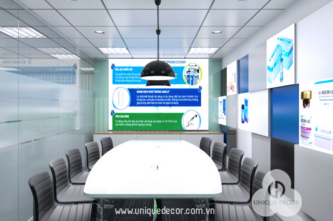 Thiết kế trang trí nội thất phòng họp trọn gói