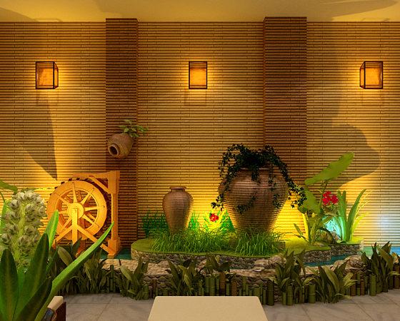 Phong thủy trong thiết kế thi công nội thất spa