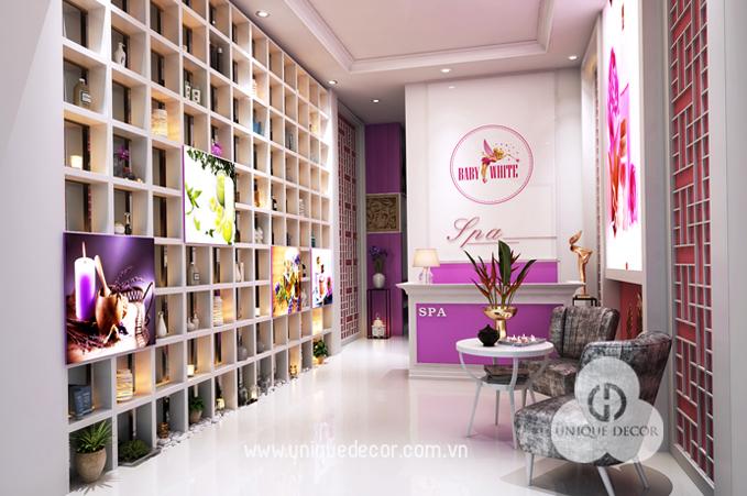 Kinh nghiệm thiết kế nội thất spa mini đẹp trọn gói