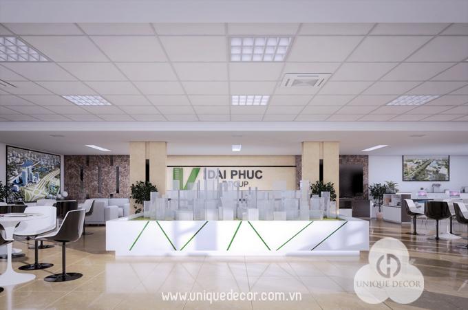 văn phòng công ty bất động sản Đại Phúc