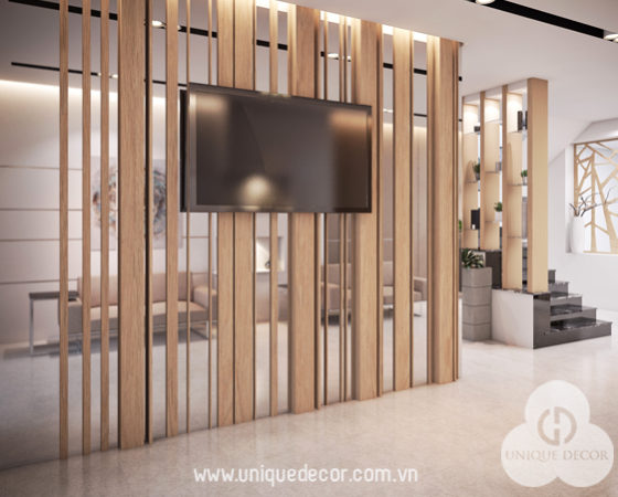 Thiết kế nội thất khách sạn Trung Quân