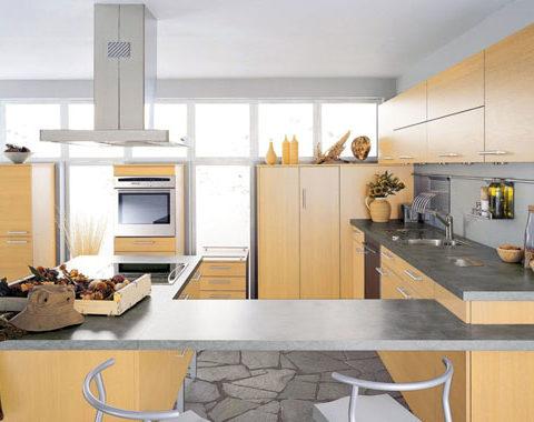Thiết kế thi công nội thất phòng bếp theo phong thủy