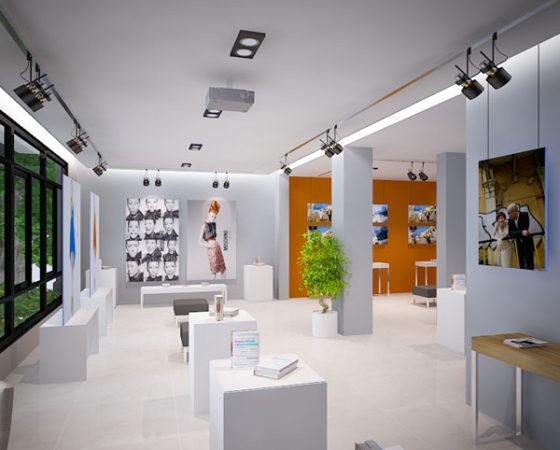 Thiết kế nội thất showroom chuyên nghiệp