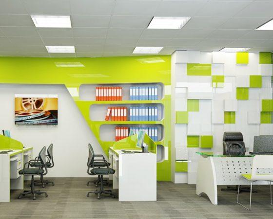Thiết kế văn phòng hiện đại tại Tp.HCM