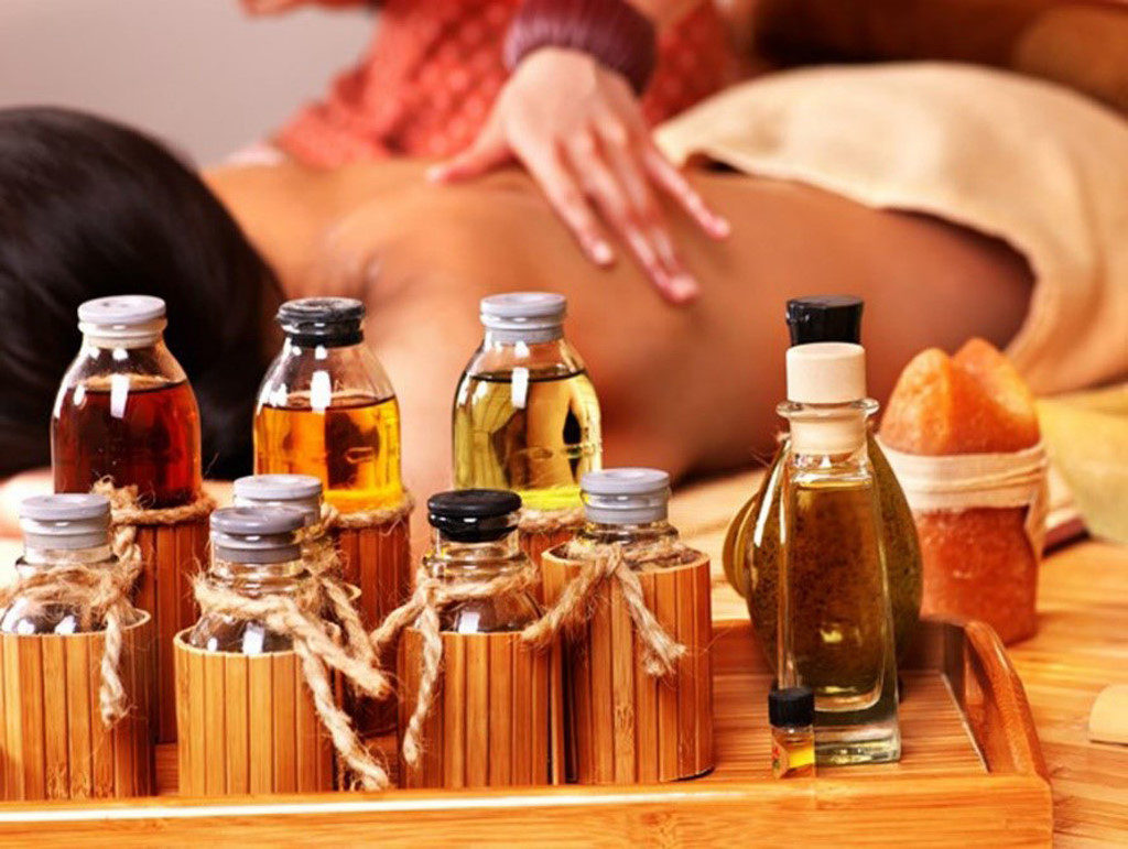 Tinh dầu trong spa