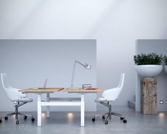 19 mẫu thiết kế bàn làm việc đầy chức năng cho 2 người