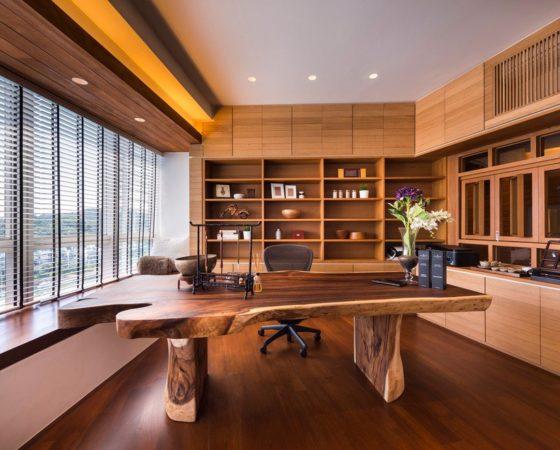 20 mẫu thiết kế văn phòng tại nhà tinh tế phổ biến hiện nay