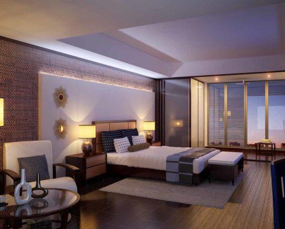 Kinh nghiệm thiết kế thi công nội thất khách sạn đơn giản