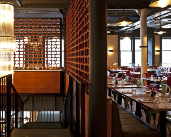 Giải pháp thiết kế nội thất nhà hàng ăn uống