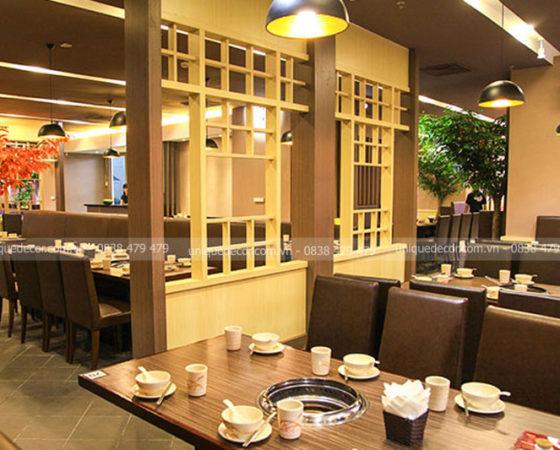Tư vấn thiết kế nhà hàng ăn uống cao cấp sang trọng