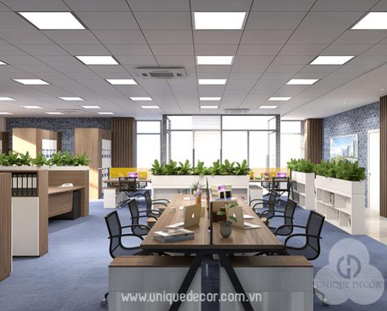 Thiết kế Văn Phòng Công ty Ticco