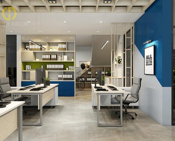 Thiết kế văn phòng công ty MINH THANH