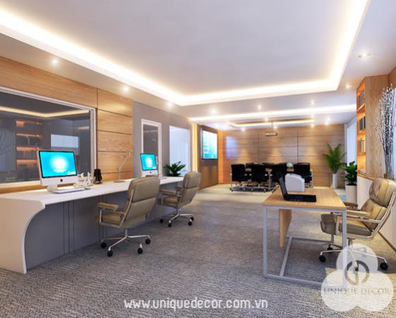 Thiết kế văn phòng Cty PVGas