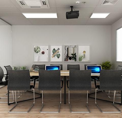 Ý tưởng tư vấn nội thất phòng họp hiện đại chuyên nghiệp