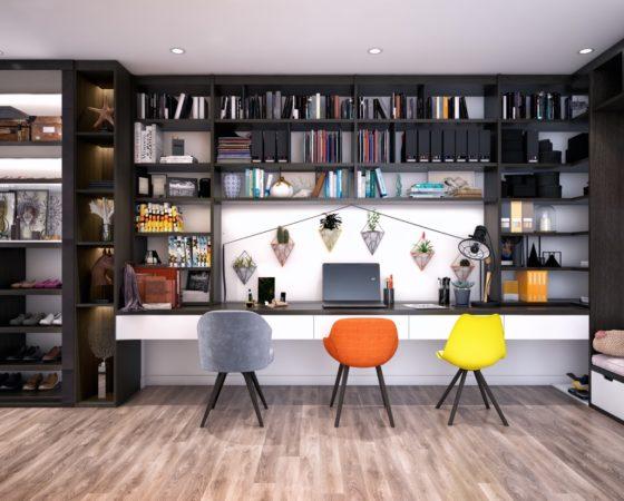 Tăng năng suất bằng cách cải thiện thiết kế văn phòng.